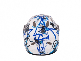 ONEAL Full Face Helmet Backflip Fidlock Evo JUNGLE Blue