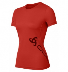 Odlo t shirt running event ii formula one rouge l