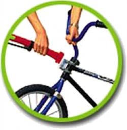 TRAIL-GATOR Barre Tandem de Remorquage pour Vélo Enfant Rouge