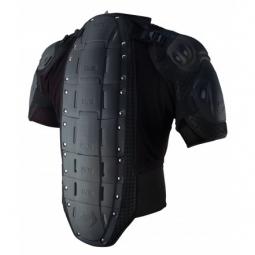 ixs veste de protection manches courtes hammer jacket noir xs