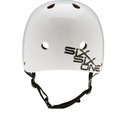 Casque bol 661 sixsixone DIRT LID STACKED Blanc Taille unique