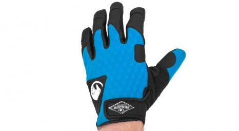 SHADOW Paire de Gants Local Bleu