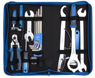 Conjunto de herramientas de bicicleta UNIOR 22 piezas con estuche