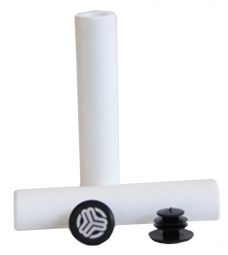 Image of Grips sb3 silicone blanc 32mm