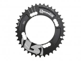 Rotor plateau vtt exterieur q ring xc2 104mm bcd noir 38