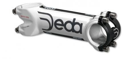 DEDA ZERO 100 SC Stem 31.8 mm Screws Titanium Mat White