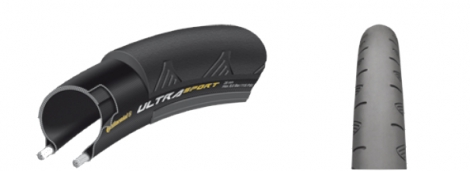 Continental Ultra Sport II Road Tyre - 700mm Foldable