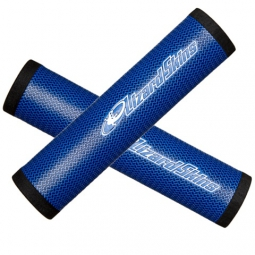 LIZARD SKINS DSP Pair of Grips 32.3mm Blue