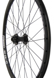 HALO FREEDOM Front Wheel Drive 6TR Black 26'' 9mm/20mm