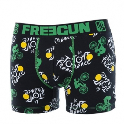 FREEGUN Boxer Garçon Collection Tour de France 2014 Vert