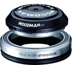 Woodman jeu de direction axis l icr integre conique 1 5 pour pivot 1 1 8 noir