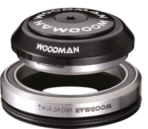 woodman jeu de direction integre conique axis ic 1 1 8 1 5 xs spg comp 7 avec reducteur noir