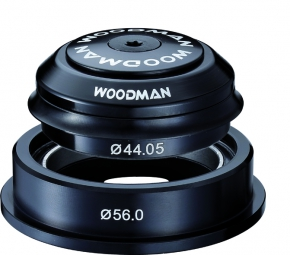 woodman jeu de direction semi integre conique axis a si cr 1 1 8 1 5 spg comp noir