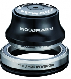 WOODMAN Headset AXIS AA - SICR Semi-Integrated Tapered 1''1/8 - 1.5'' XS SPG Black