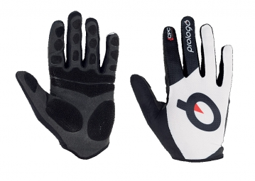 PROLOGO Pair of MTB Gloves CPC White