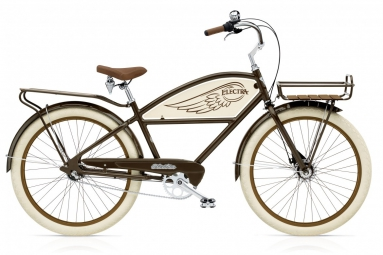 ELECTRA Vélo Complet Beach Cruiser DELIVERY 3i Brown