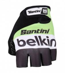 SANTINI Paire de gants courts Team BELKIN 2014