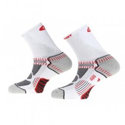 Bv sport paire de chaussettes teamsocks blanc 45 47