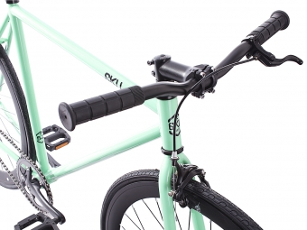 6KU 2016 Vélo Complet Fixie MILAN 2 Mint Green/Black