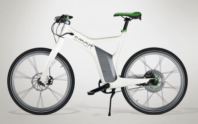 SMART 2014 Vélo Complet E-Bike Electric Blanc Vert