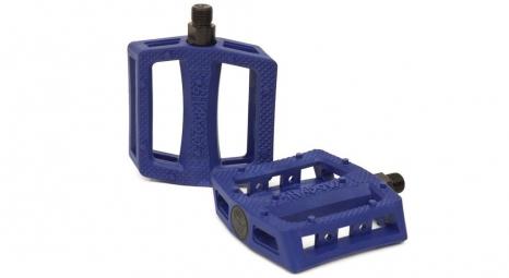 SHADOW Pedales Plastique RAVAGER Bleu