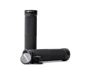 NEATT Race Lock On Grips - Black