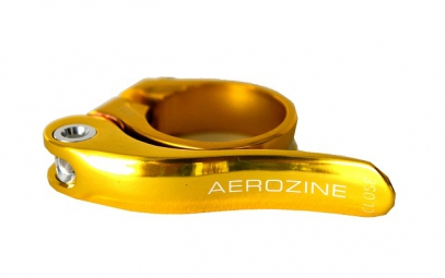 AEROZINE Quick Release Seat Clamp Gold