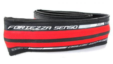 VERDESTEIN Tire FORTEZZA SENSO ALL WEATHER 700x23c Foldable Black Red