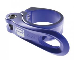 promax serrage de selle rapide qr 1 bleu 34 9