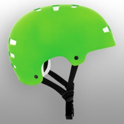 Casque bol TSG EVOLUTION Solid Color Lime Green
