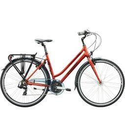 TREK  Vélo Complet City Femme VIENNA Rouge