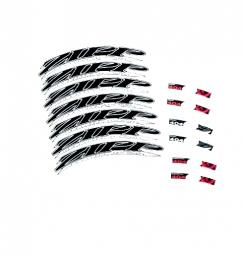 ZIPP Kit Autocollants ´´404 Firecrest Tubular / Clincher´´ 2012 Noir