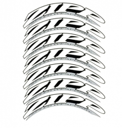 ZIPP Kit Autocollants ´´808 / 1080 Firecrest Tubular / Clincher´´ 2012 Blanc