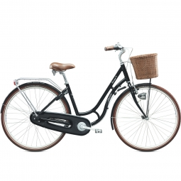 TREK Vélo Complet City SANTIAGO Noir