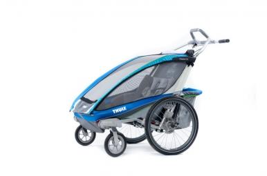 THULE Remorque Enfant 1 Place CHARIOT CX1 kit vélo Bleu