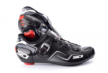 chaussures route sidi kaos noir 40