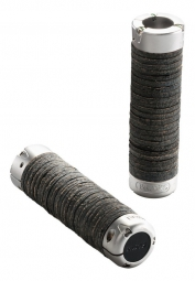 BROOKS Grips PLUMP LEATHER GRIPS Black