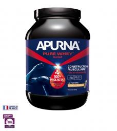 APURNA Pot de protéines PURE WHEY ISOLAT Goût Vanille - Pot 750g