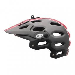 Casque Bell SUPER Gris/Rouge