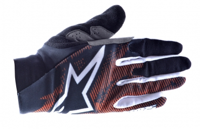 ALPINESTARS Paire de Gants AERO Orange Noir