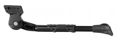GNK Béquille Latérale Réglable URSUS KING Vélo 26-28'' Ecart 40mm Alu Noir