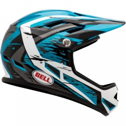Casco integral Bell SANCTION Negro Azul Blanco