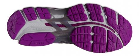 asics chaussures gt 2000 2 lite show noir violet femme 37 1 2