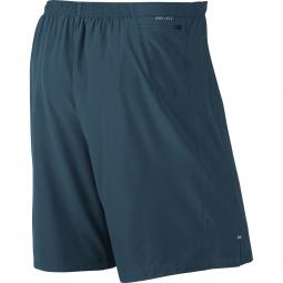 Short 2-en-1 Homme Nike Phenom 2-in-1 23cm Bleu