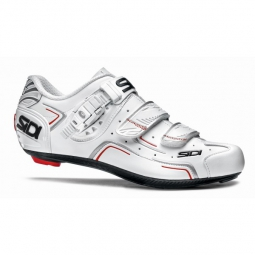 chaussures route sidi level blanc 41