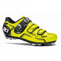 chaussures vtt sidi buvel jaune noir 46