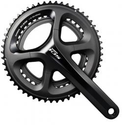 shimano pedalier 105 5800 2x11v compact 52 36 dents noir 172 5
