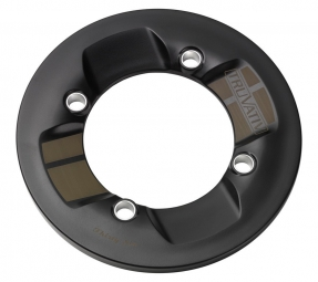 TRUVATIV Protège Plateau ROCKGUARD 36 Dents 104mm BCD Polycarbonate Noir