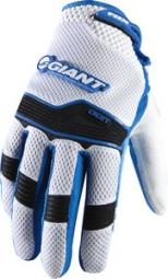 FOX Paire de gants longs DIGIT GIANT Bleu Blanc