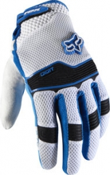 FOX Paire de gants longs DIGIT GIANT Bleu Blanc
